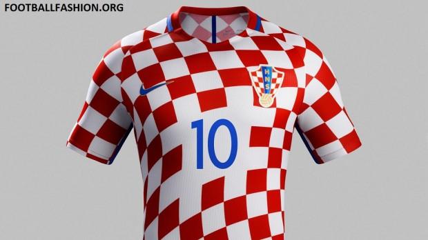 Croatia EURO 2016 Nike Home and Away Football Kit, Soccer Jersey, Shirt, Europskom Dres