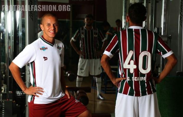 Fluminense Football Club 2016 DryWorld Football Kit, Soccer Jersey, Shirt, Camisa do Futebol