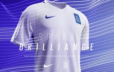 Greece 2016 2017 Nike Home and Away Football Kit, Soccer Jersey, Shirt