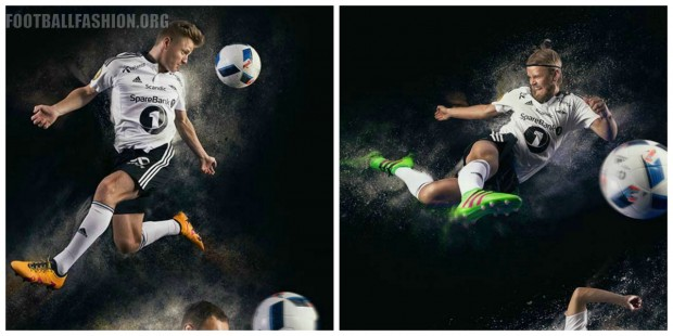 Rosenborg BK adidas 2016 Home Soccer Jersey, Football Kit, Shirt, Spilletrøye
