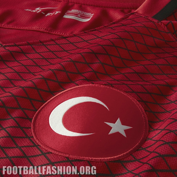Turkey EURO 2016 Nike Home and Away Football Kit, Soccer Jersey, Shirt, Türkiye Forma
