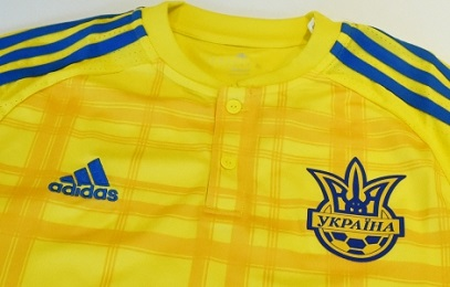 Ukraine EURO 2016 adidas Home Football Kit, Soccer Jersey, Shirt