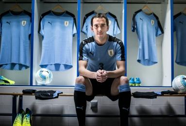 Uruguay 2016 Copa America Centenario PUMA Home and Away Football Kit, Soccer Jersey, Shirt, Camiseta de Futbol 2017 Para Rumbo al Mundial