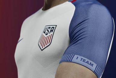 USA 2016 2017 Copa America White Home and Black Away Soccer Jersey, Shirt, Football KIt, Camiseta de Futbol