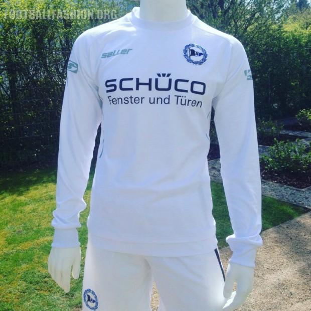 Arminia Bielefeld 2016 2017 Saller Away Football Kit, Soccer Shirt, Shirt, Trikot