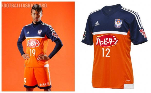 Albirex Niigata 2016 adidas Football Kit, Soccer Jersey, Shirt