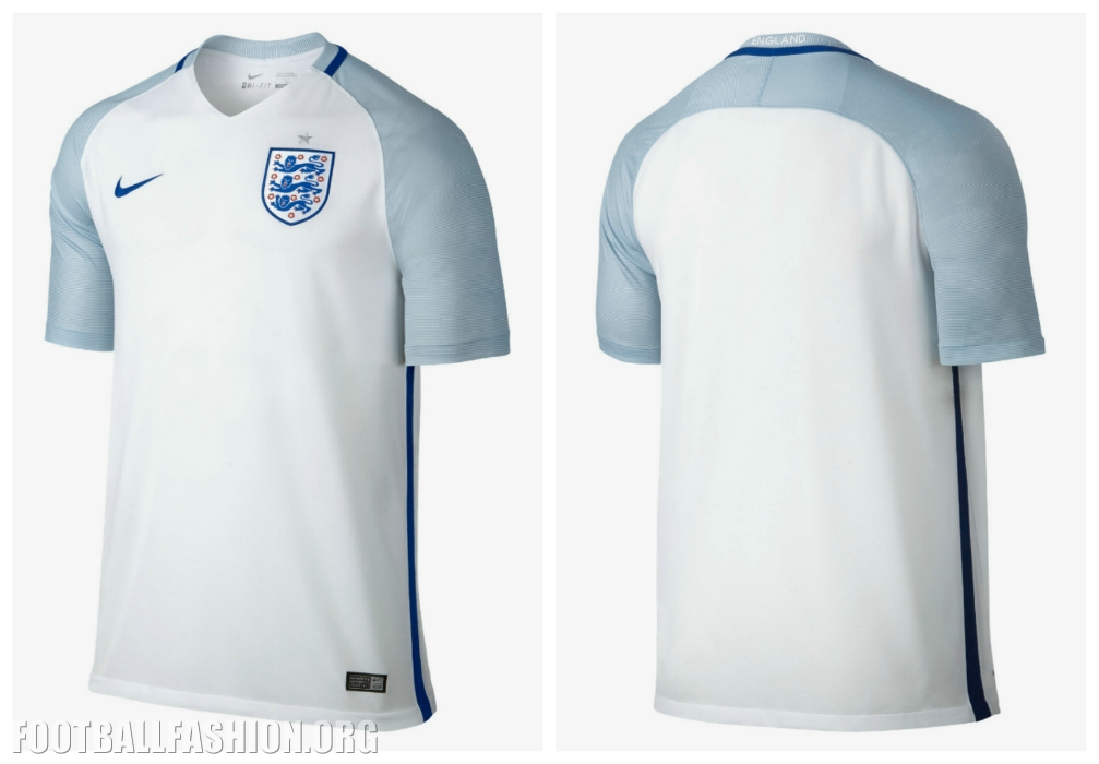 ab470e069d4 Here s our in-person look at the latest Three Lions primary shirt for the  2016 17 international football calendar.