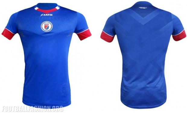 Haiti 2016 2017 Copa América Seata Home Soccer Jersey, Football Kit, Shirt, Maillot
