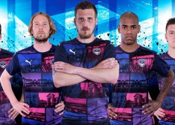 Girondins de Bordeaux 2016 2017 PUMA Third Football Kit, Soccer Jersey, Shirt