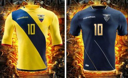 Ecuador 2016 Copa América Centenario Marathon Soccer Jersey, Football Kit, Shirt, Camiseta de Futbol
