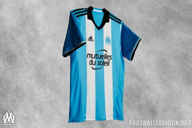 Olympique Marseille 2016 2017 adidas Football Kit, Soccer Jersey, Shirt, Maillot