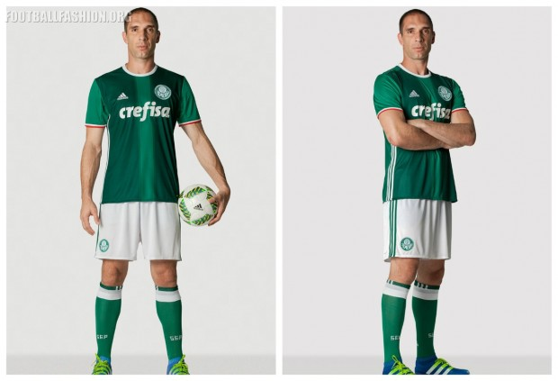 Palmeiras 2016 2017 adidas Home Football Kit, Soccer Jersey, Shirt, Camisa do Futebol
