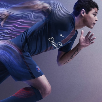 Paris Saint-Germain 2016 2017 Nike Home Football Kit, Soccer Jersey, Shirt, Maillot, Camisa, Camiseta