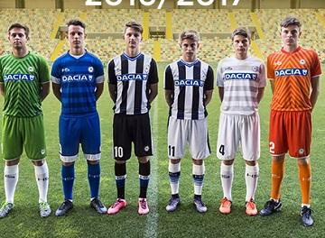 Udinese Calcio 2016 2017 HS Home, Away and Third Football Kit, Soccer Jersey, Shirt, Maglia, Gara