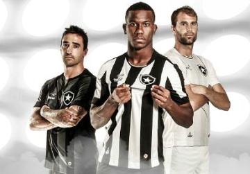 Botafogo 2016 2017 Topper Home and Away Football Kit, Soccer Jersey, Shirt, Camisa