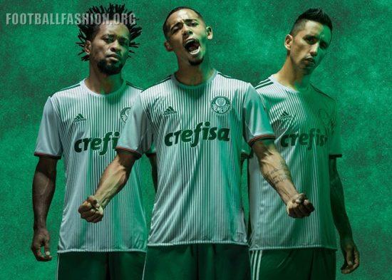 Palmeiras 2016 2017 adidas Away Football Kit, Soccer Jersey, Shirt, Camisa II