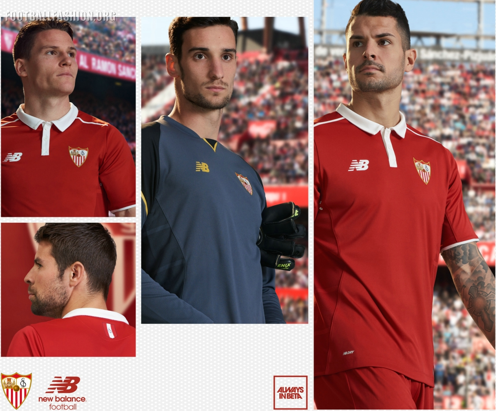 Sevilla Fc 2016 17 New Balance Away Kit Football Fashion