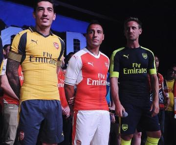Arsenal Football Club 2016 2017 PUMA Away and Third Kit, Shirt, Soccer Jersey, Camiseta, Maillot