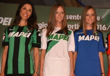 Sassuolo Calcio 2016 2017 Kappa Home, Away and Third Football Kit, Soccer Jersey, Shirt, Gara, Maglia