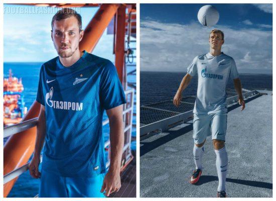 FC Zenit Saint Petersburg 2016 2017 Nike Football Kit,  Soccer Jersey, Shirt