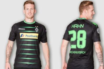 Borussia Monchengladbach 2016 17 Kappa Away And Third Kits Football Fashion