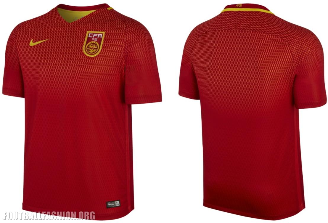 China 2016/17 Nike Home and Away Kits - FOOTBALL FASHION