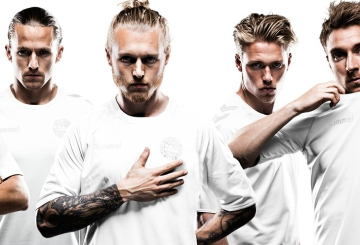 Denmark Limited Edition 2016 All White Hummel Football Kit, Soccer Jersey, Shirt, Spilledragt