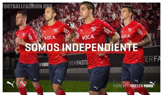 Club Atlético Independiente 2016 2017 PUMA Home and Away Football Kit, Soccer Jersey, Shirt, Camiseta de Futbol, Equipacion