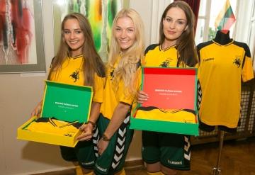 Lithuania 2016 2017 Hummel Home Football Kit, Soccer Jersey, Shirt,