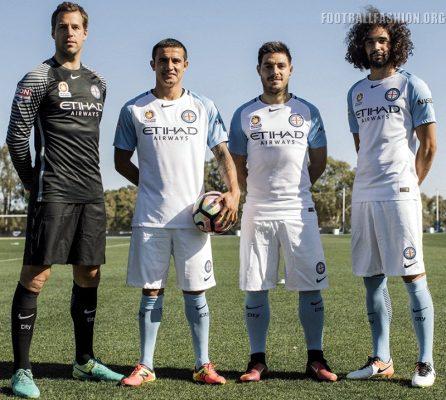 Melbourne City FC 2016 2017 Nike Home Football Kit, Soccer Jersey, Shirt
