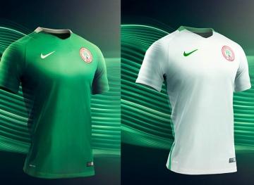 Nigeria 2016 2017 Nike Home and Away Olympic Football Kit, Soccer Jersey, Shirt, Olympics