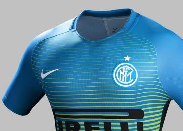 Inter Milan 2016 2017 Nike Third Football Kit, Soccer Jersey, Shirt, Camisa, Camiseta, Gara, Maglia