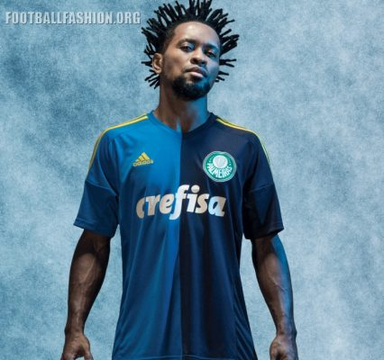 Palmeiras 2016 2017 adidas Third Football Kit, Soccer Jersey, Shirt, Camisa III
