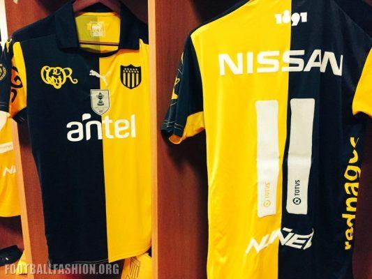 Peñarol 125th Anniversary PUMA Football Kit, Soccr Jersey, Shirt, Camiseta edición aniversario