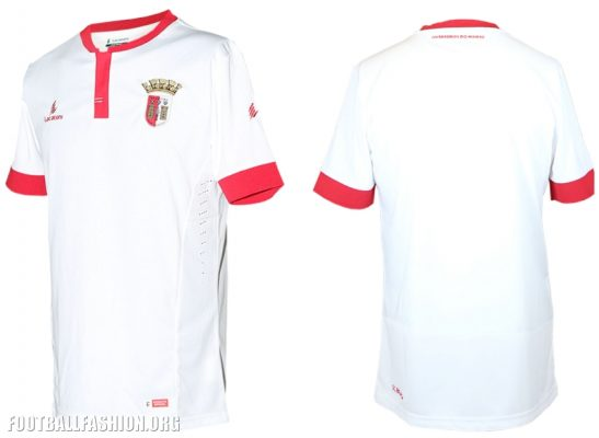 SC Braga 2016 2017 Lacatoni Home and Away Football Kit, Soccer Jersey, Shirt, Camisa, Camisola