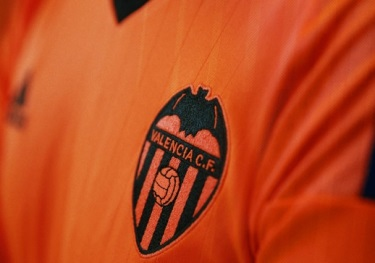 Valencia CF 2016 2017 adidas Orange Third Football Kit, Soccer Jersey, Shirt, Equipacion, Camiseta de Futbol Tercera