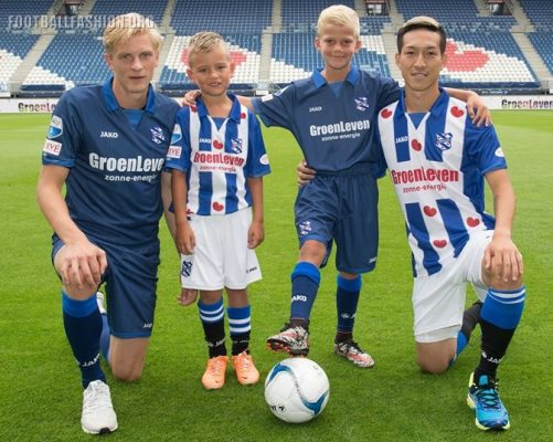 SC Heerenveen 2016 2017 Jako Home and Away Football Kit, Soccer Jersey, Shirt, Tenue, Thuisshirt, Uitshirt