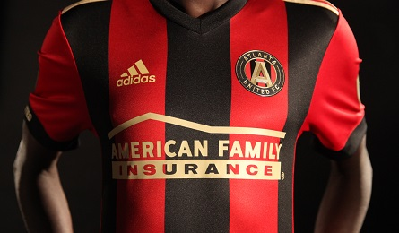 Atlanta United Football Club 2017 adidas Home Soccer Jersey, Shirt, Kit, Camiseta de Futbol, Equipacion