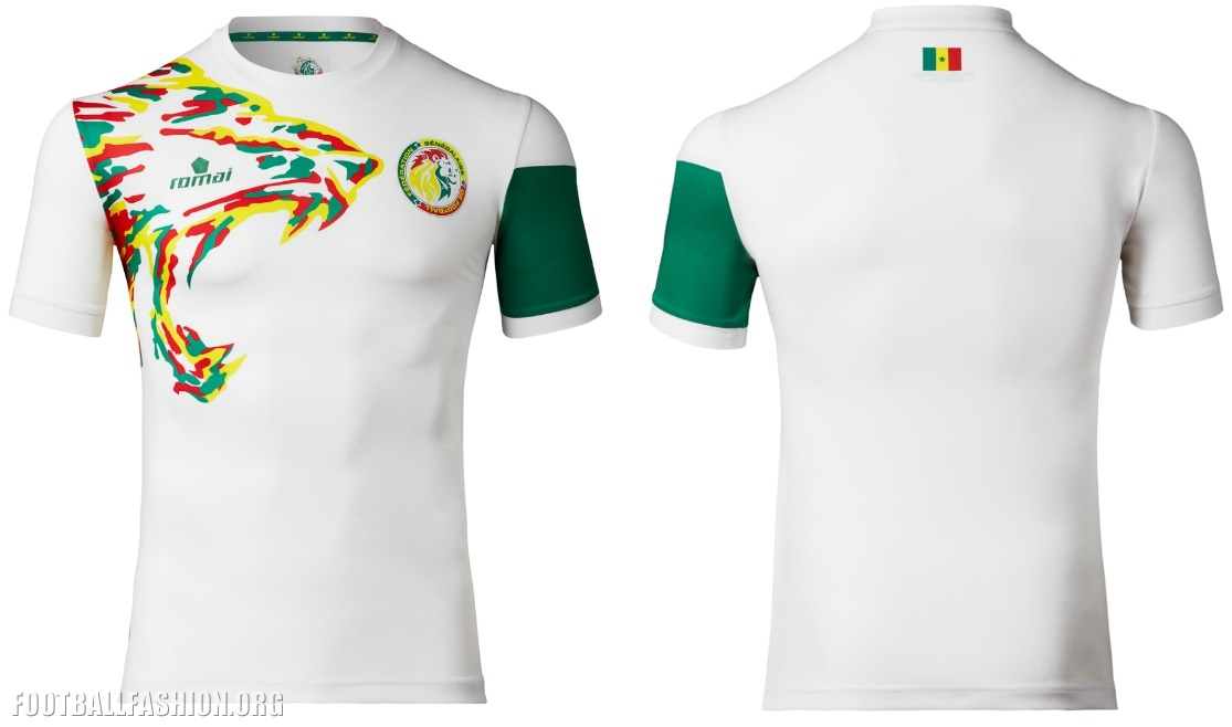 Senegal 2017 Africa Cup of Nations Home and Away Football Kit, Shirt, Soccer Jersey, Maillot CAN, AFCON