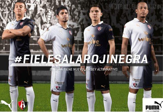 Atlas FC 2017 PUMA Third Soccer Jersey, Football Kit, Shirt, Camiseta de Futbol, Playera, Equipacion