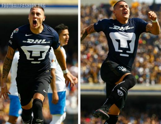 Pumas de la UNAM 2017 Nike Third Soccer Jersey, Shirt, Football Kit, Camiseta de Futbol, Playera