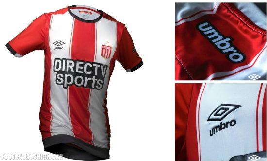 Estudiantes de La Plata 2017 Umbro Home Football Kit, Soccer Jersey, Shirt, Camiseta de Futbol, Playera, Equipacion
