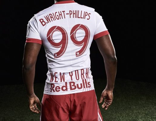 New York Red Bulls 2016 adidas Home Soccer Jersey, Football Kit, Shirt, Camiseta de Futbol