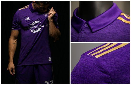 Orlando City SC 2017 adidas Home Football Kit, Soccer Jersey, Shirt, Camiseta de Futbol, Camisa
