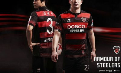 Pohang Steelers 2017 Astore Home Football Kit, Soccer Jersey, Shirt