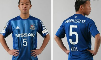 Yokohama F. Marinos 2017 adidas Cup Football Kit, Soccer Jersey, Shirt