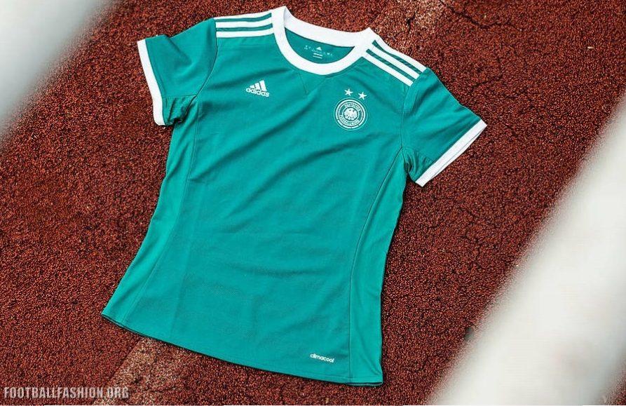 new arrivals 7da5d 0c25f Germany Women's EURO 2017 adidas Away Kit - FOOTBALL FASHION.ORG