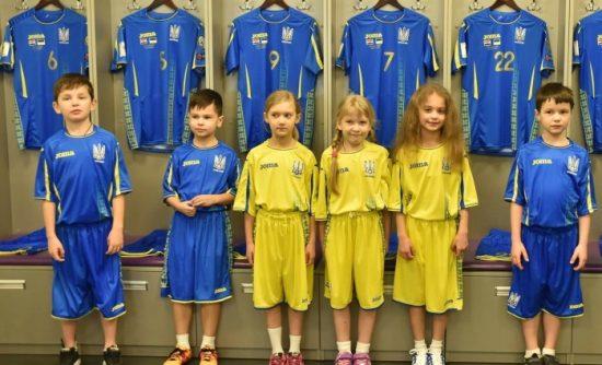 Ukraine 2017 2018 Joma Home and Away Football Kit, Soccer Jersey, Shirt