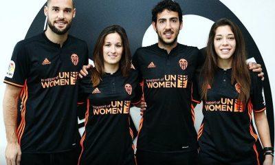 Valencia CF 2017 International Women's Day adidas Football Kit, Soccer Jersey, Shirt, Camiseta de Futbol