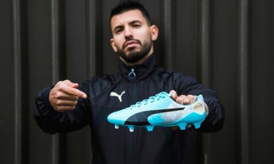 "PUMA Sergio ""Kun"" Agüero evoSPEED SL-S Derby Fever Boots, Calzado, Football Shoe"